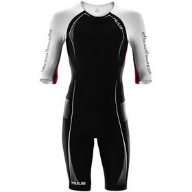 HUUB Anemoi Aero Strój triathlonowy Mężczyźni, czarny/biały